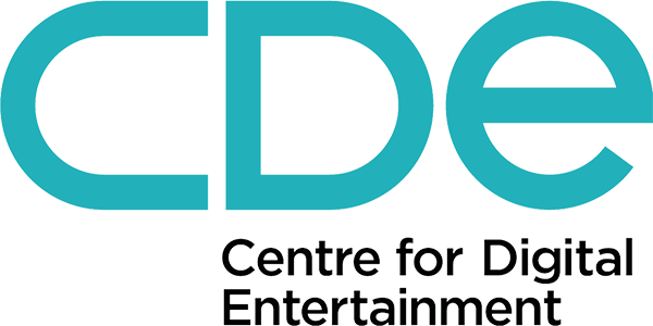 CDE – Centre for Digital Entertainment logo